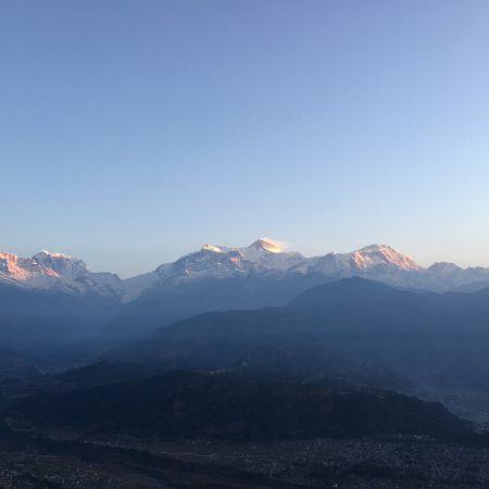 Annapurna range from Sarangkot view point