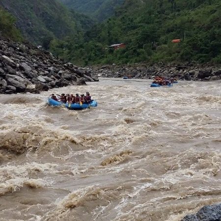 White Water Rafting in Trishuli River