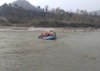 White Water Rafting in Trishuli River
