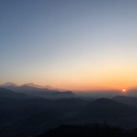 Sunrise from Sarangkot view point