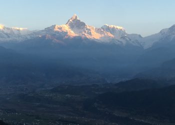 Annapurna ranges from Sarangkot view point