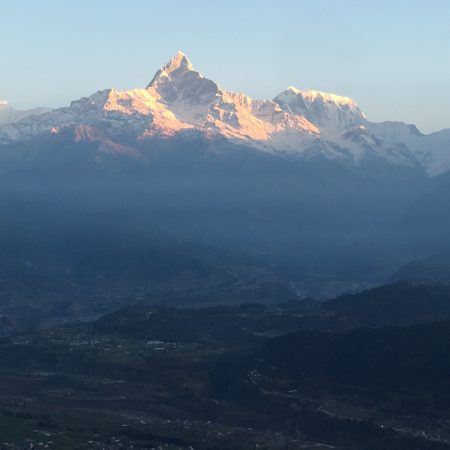 Annapurna ranges from Sarangkot view point