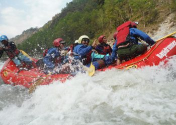 White Water Rafting in Kaligandaki river