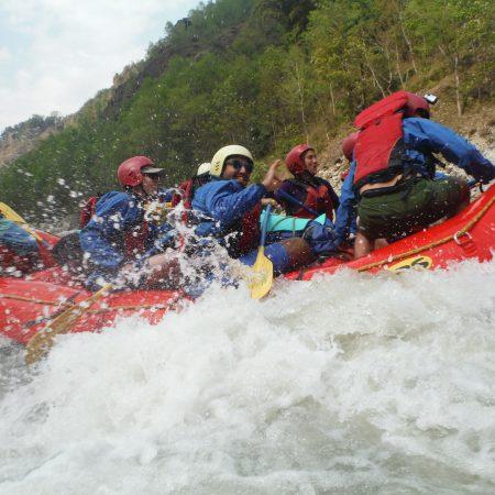 White Water Rafting in Kaligandaki river