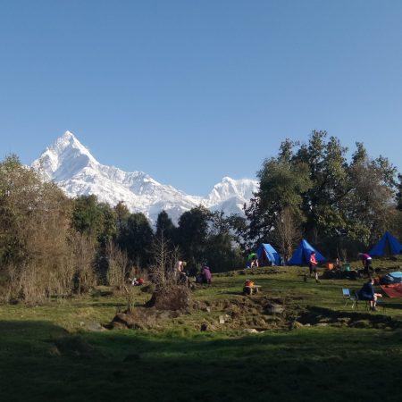 Camping in Tara Hilltop