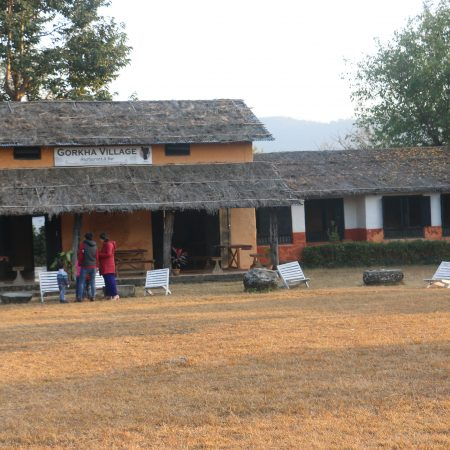 Traditional Cafe in International Mountain Museum Pokhara, Nepal