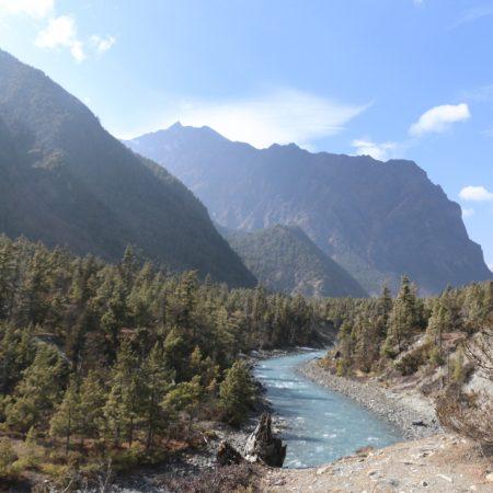 Marsyangdi River, Annapurna Circuit, Nepal