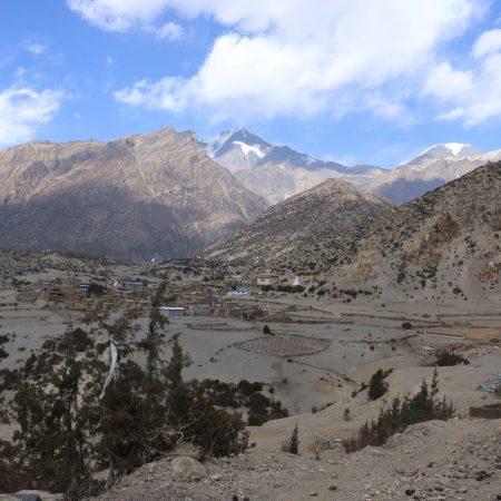 Thorang valley, Manang, Nepal