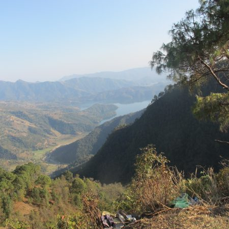 View of Begnas from Shaklung village