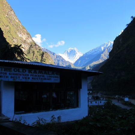 Lodge on the way to Annapurna-Dhaulagiri Trek