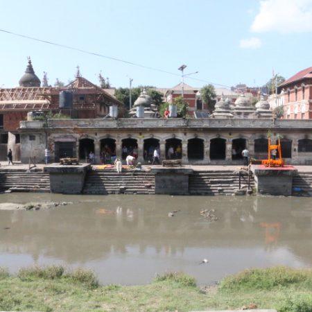 Bagmati river & Pashupatinath temple