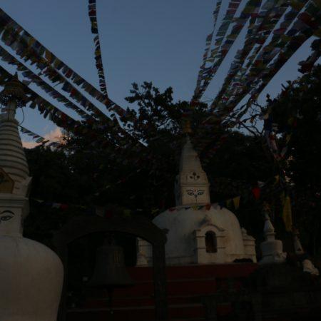 Chaitya in Monkey Temple (swayambhunath