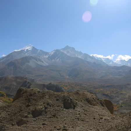 View of Nilgiri from Green Tangbe