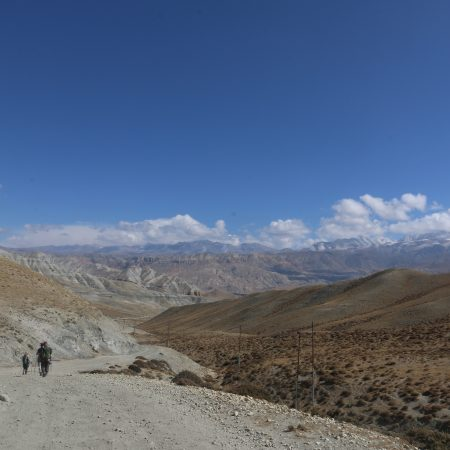 Road to Tangbe (Upper Mustang)