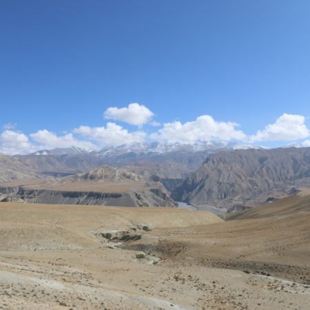 Plateau on the way to Upper Mustang