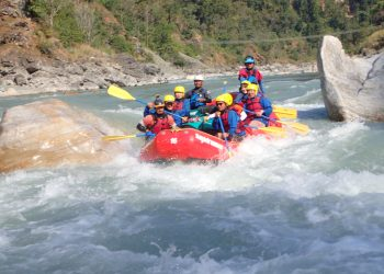 White Water Rafting in Lower Seti River
