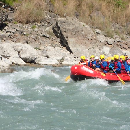 White Water Rafting in Lower Seti River