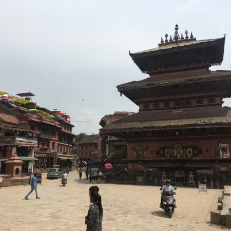 Bhairavnath temple in Bhaktapur Durbar Square