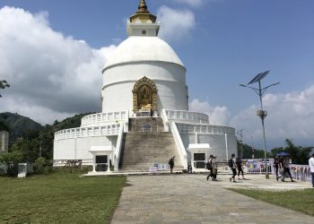 World Peace Pagoda Pokhara, Nepal