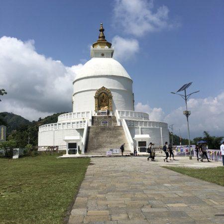 World Peace Pagoda Pokhara, Nepal